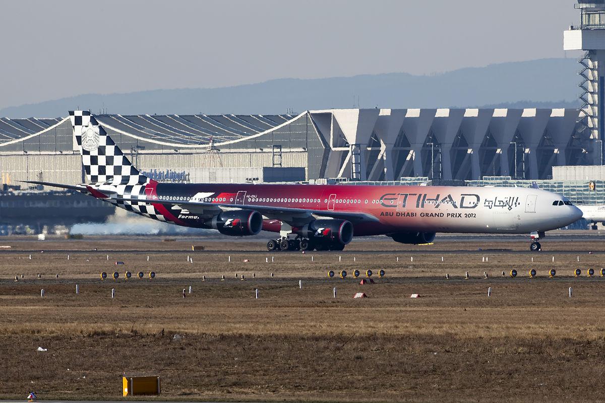 A6-EHJ A340-600 Etihad