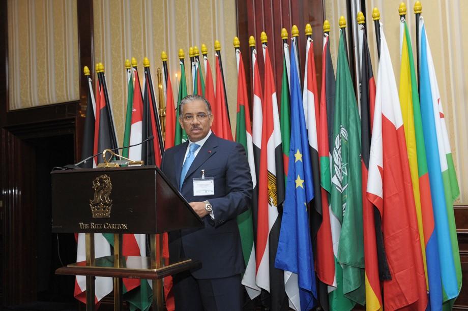 Abdulrahman Al Khulaifi, Botschafter von Katar und Doyen des arabischen diplomatischen Korps