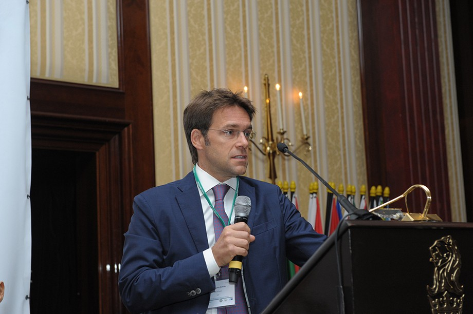 Eugenio Bettella (Rödel & Partner) beim 19. Ghorfa Wirtschaftsforum 2016