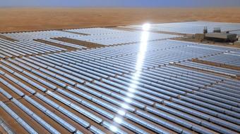 Thermisches Solarkraftwerk Shams 1 Masdar